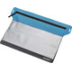 Cocoon Zippered Flat Wallet Large grey/blue